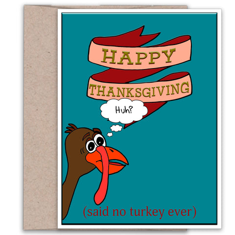 Happy Thanksgiving card from Kat Mariaca Studio