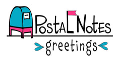 Postal Notes Greetings by Kat Mariaca Studio