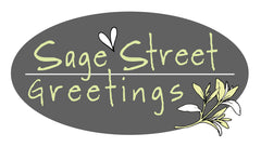Sage Street Greetings on Kat Mariaca Studio