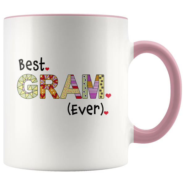 Best Gram Ever - 2-Tone Coffee Mug Gift for Your Grandmother