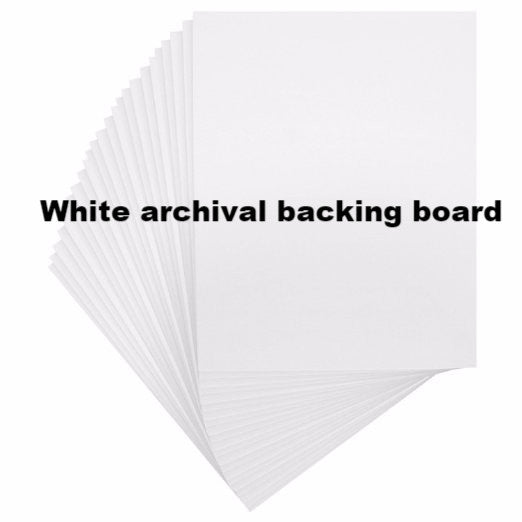White Archival Mat for 5 x 7 Cards and Art Prints - KatMariacaStudio - 3