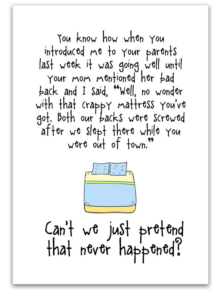 Bad Back - An Awkward Relationship Greeting Card - KatMariacaStudio - 3