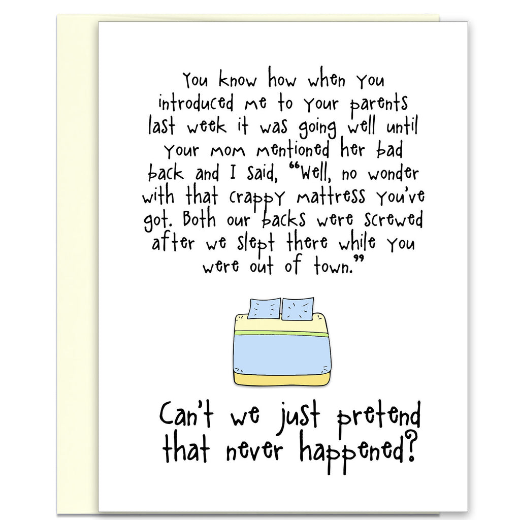 Bad Back - An Awkward Relationship Greeting Card - KatMariacaStudio - 1