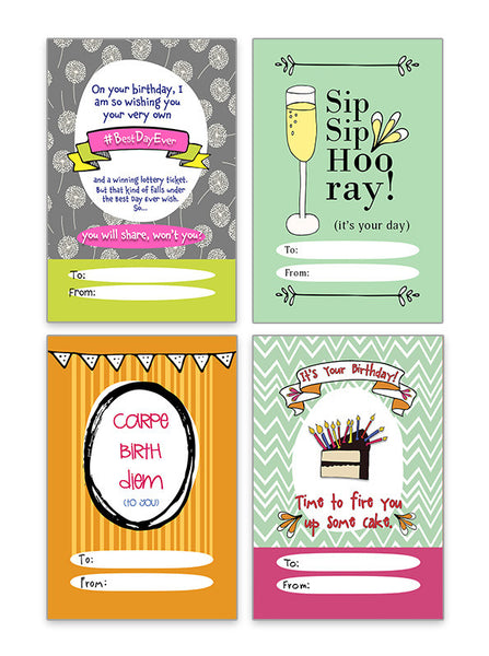 Birthday Gift Tags - Your New Favorite Thing