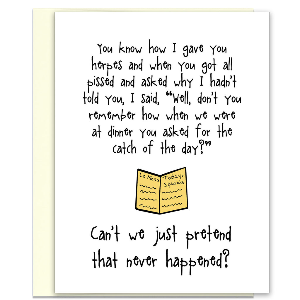 Funny Adult Greeting Card - Catch of the Day - KatMariacaStudio - 1