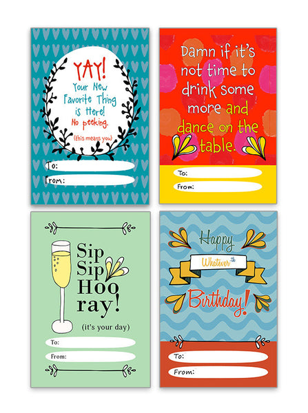 Celebration Gift Tags - Your New Favorite Thing