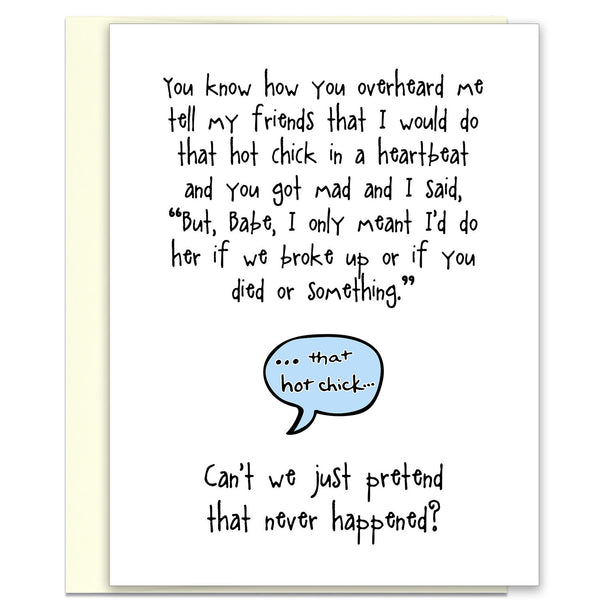 Death Wish - Funny Relationship Greeting Card - KatMariacaStudio - 1