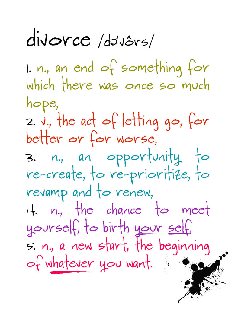 Divorce - a Funny Card about Breaking Up - KatMariacaStudio - 4