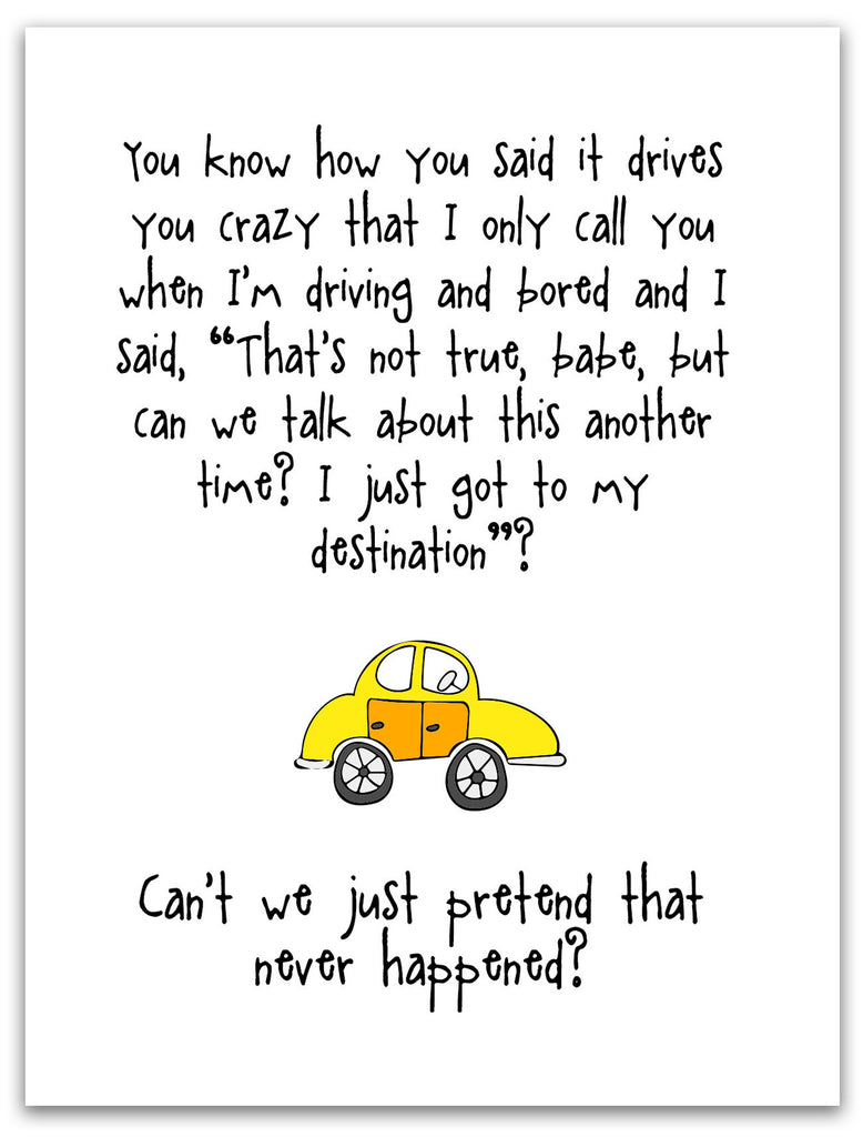 Funny Relationship Card - Driving You Crazy - KatMariacaStudio - 3