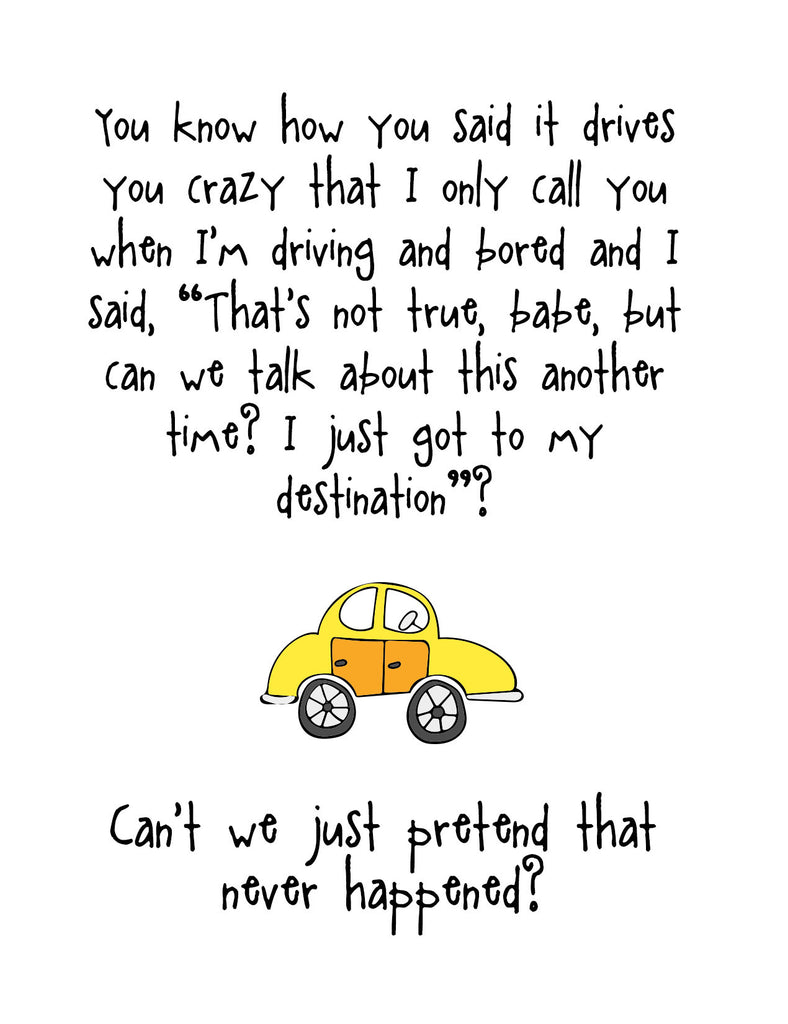 Funny Relationship Card - Driving You Crazy - KatMariacaStudio - 4