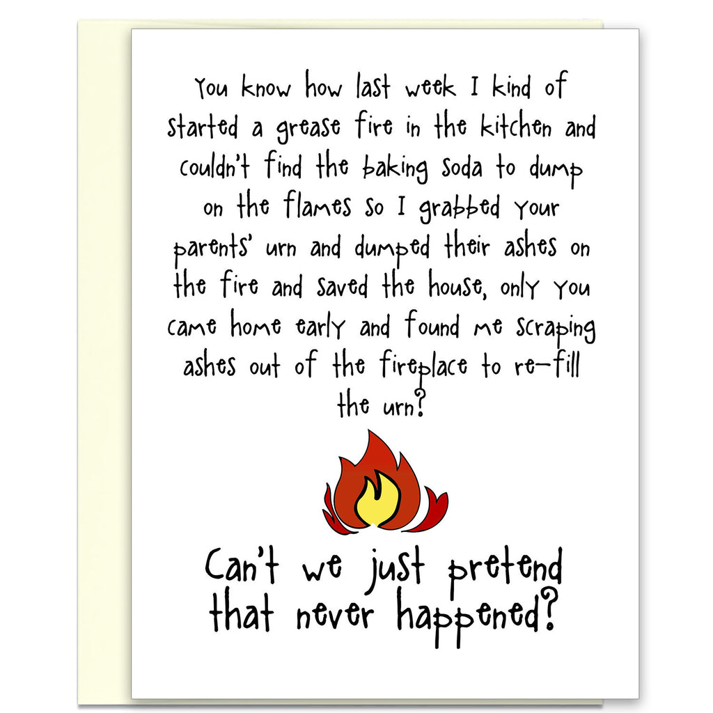 Grease Fire - Another Silly Story Card - KatMariacaStudio - 1