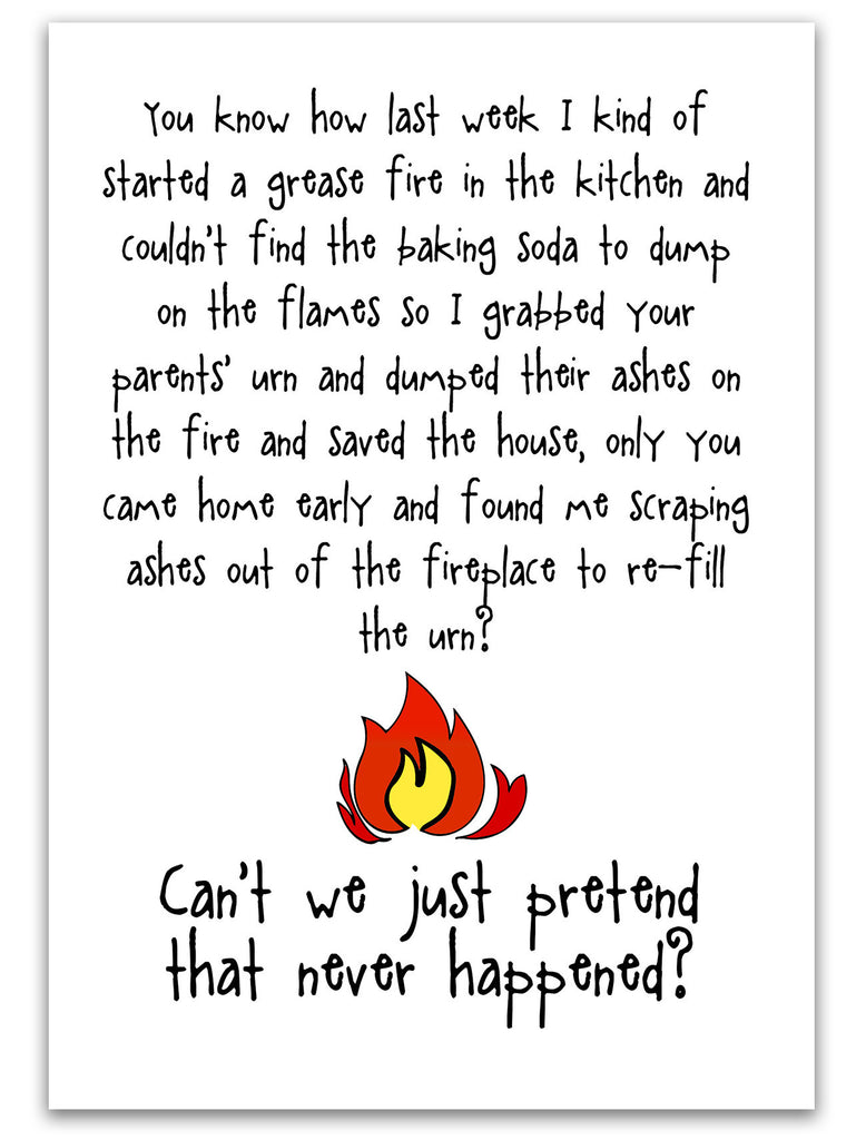 Grease Fire - Another Silly Story Card - KatMariacaStudio - 3