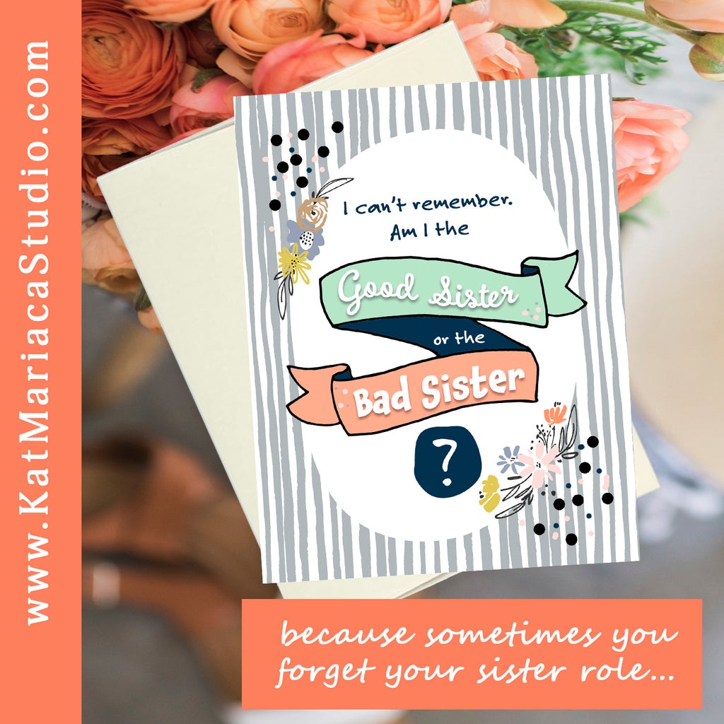 Instant Download - I Can't Remember - Hilarious Printable Sister Gift