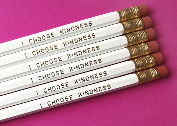 I Choose Kindness - a Write Your Story Pencil Set