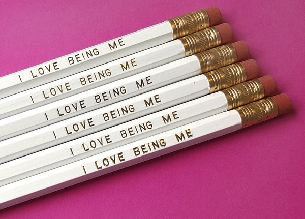 I Love Being Me - a Write Your Story Pencil Set