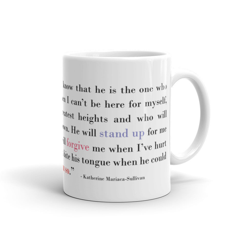 I Think of My Father - 11 oz  or 15 oz Coffee Mug - KatMariacaStudio - 2
