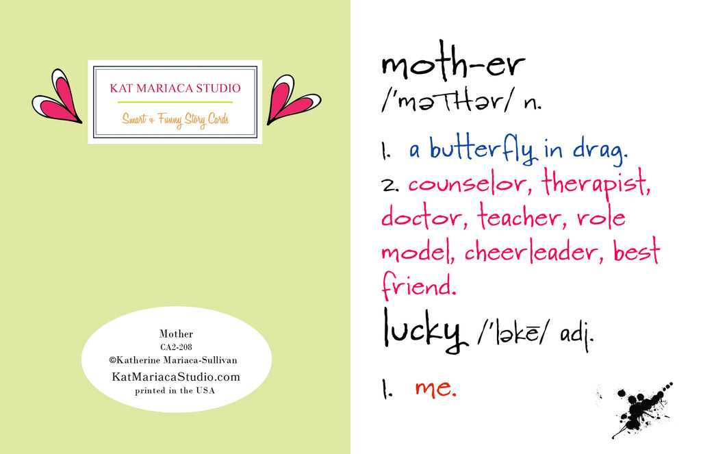 Mother - Celebrate Mom Greeting Card - KatMariacaStudio - 2