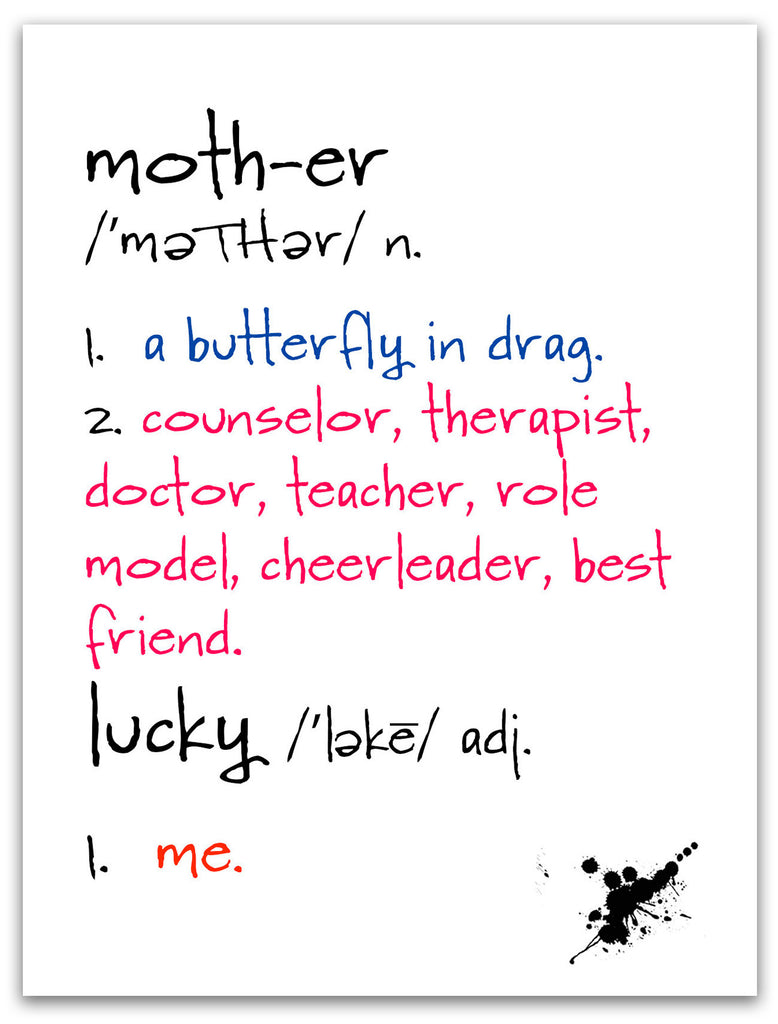 Mother - Celebrate Mom Greeting Card - KatMariacaStudio - 3