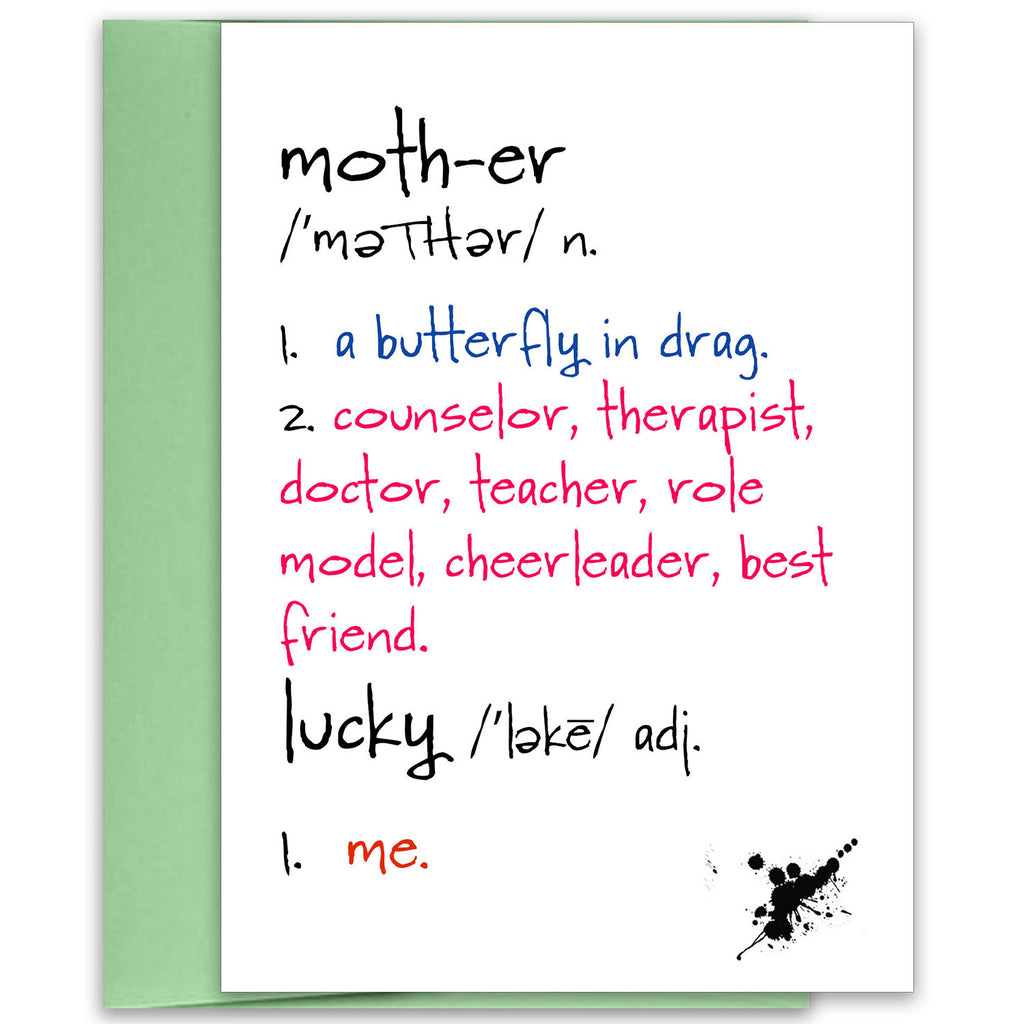 Mother - Celebrate Mom Greeting Card - KatMariacaStudio - 1