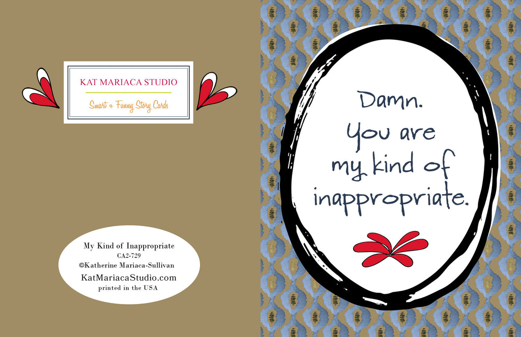 Sexy Love Card - My Kind of Inappropriate - KatMariacaStudio - 2