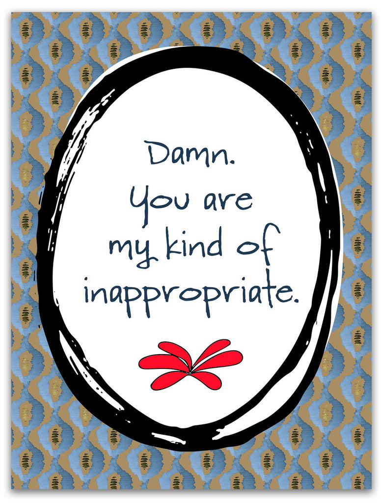 Sexy Love Card - My Kind of Inappropriate - KatMariacaStudio - 3