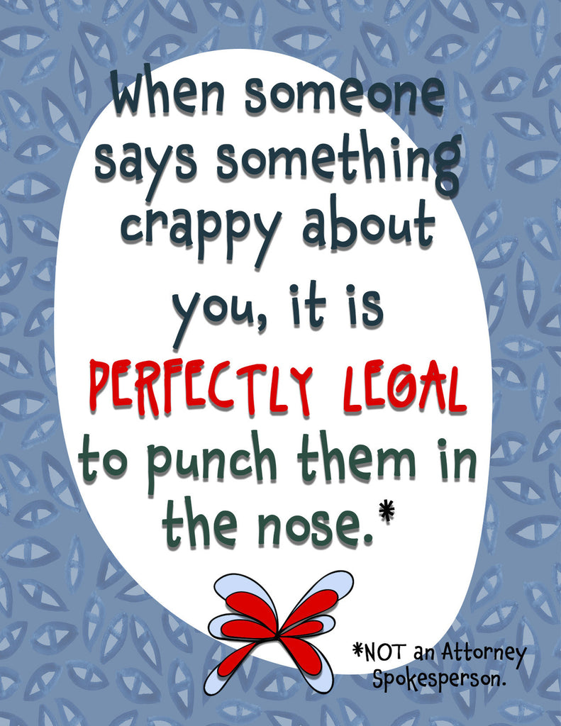 Perfectly Legal - Funny Encouragement Card for Friends - KatMariacaStudio - 4