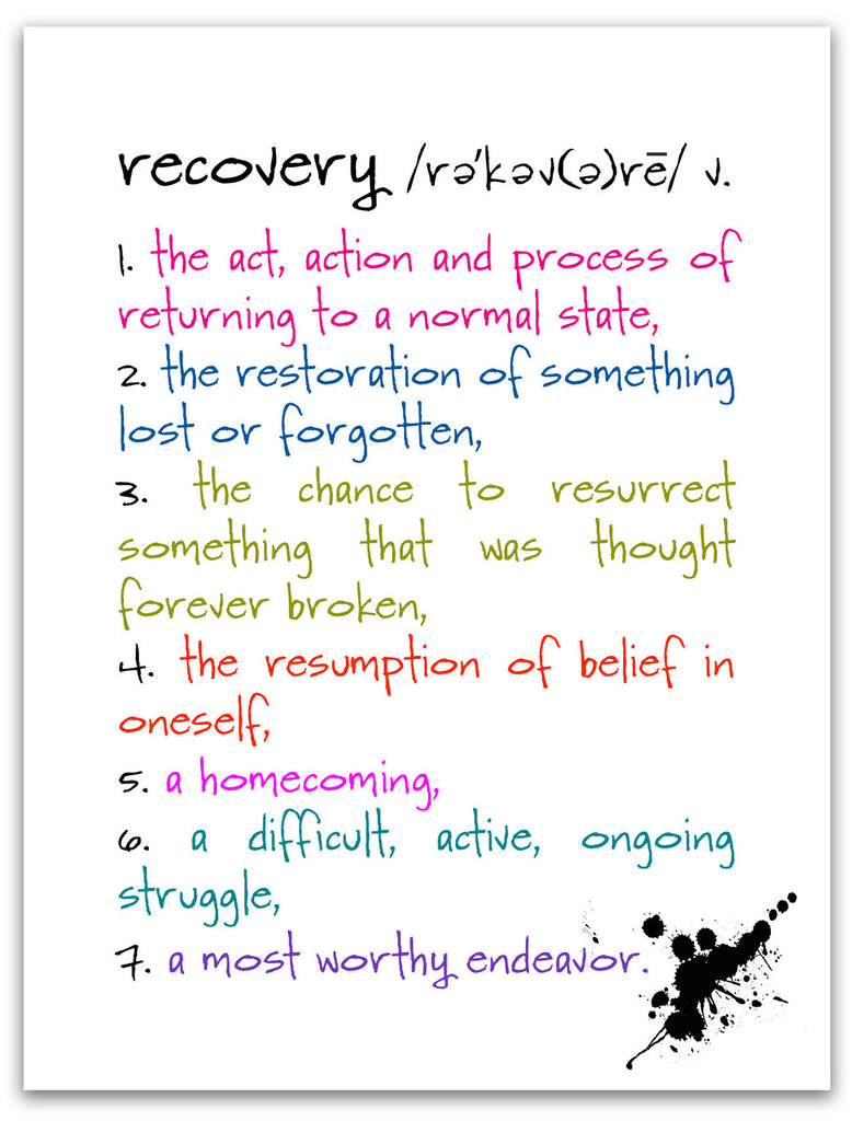 Recovery - an Encouragement and Support Greeting Card - KatMariacaStudio - 3