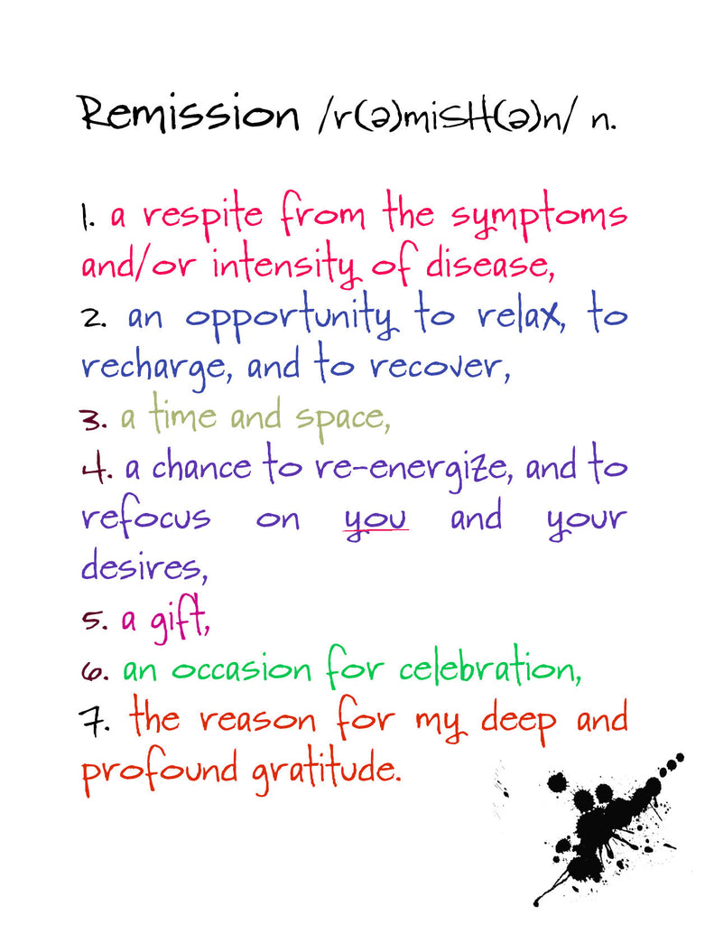 Remission - an Encouragement and Support Greeting Card - KatMariacaStudio - 4