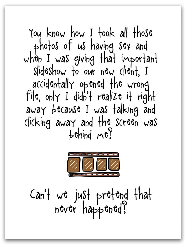 Funny Relationship Card - Slide Show Presentation - from Kat Mariaca Studio - KatMariacaStudio - 3