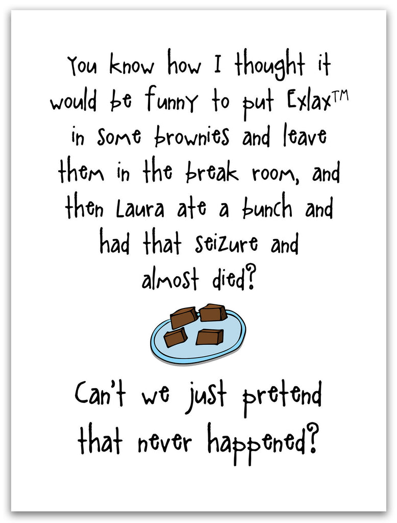 Twisted But Funny Card for Friends - Those Brownies - KatMariacaStudio - 3
