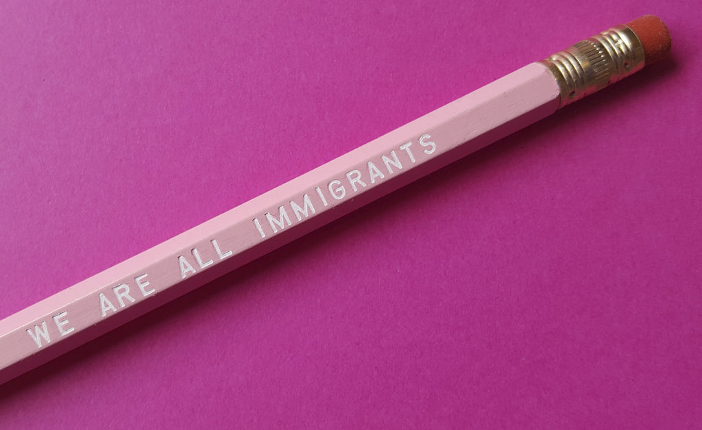 We Are All Immigrants - a Write Your Story Pencil Set