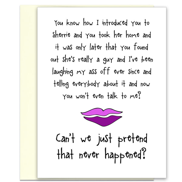 What Are Friends For? Funny Greeting Card for Friends - KatMariacaStudio - 1