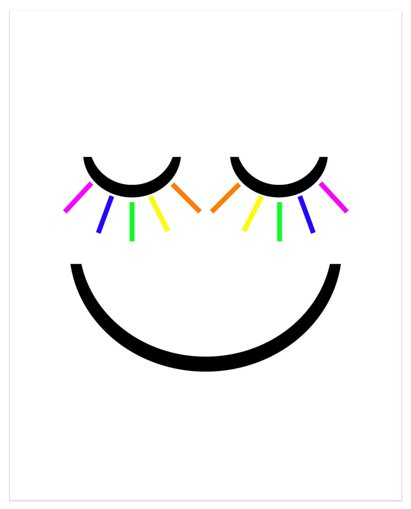 Smiley Face - Matted Art Print - KatMariacaStudio - 4