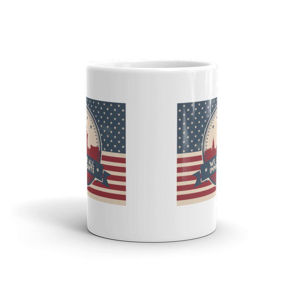 We are ALL Immigrants Coffee Mug - 11 oz and 15 oz Mugs - KatMariacaStudio - 4