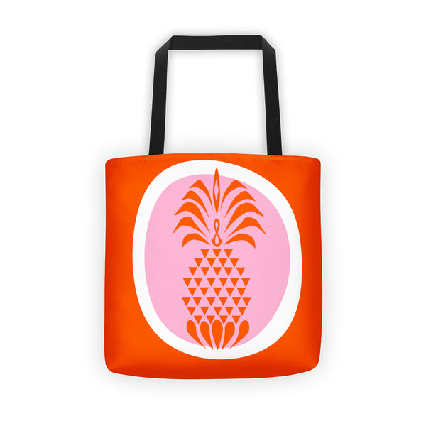 Pineapple Crush Summer Colors All Over Tote Bag