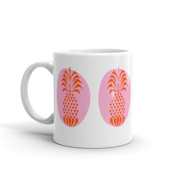 Coffee Mug Gift - Pineapple Crush Bright Summer Color Coffee Mug