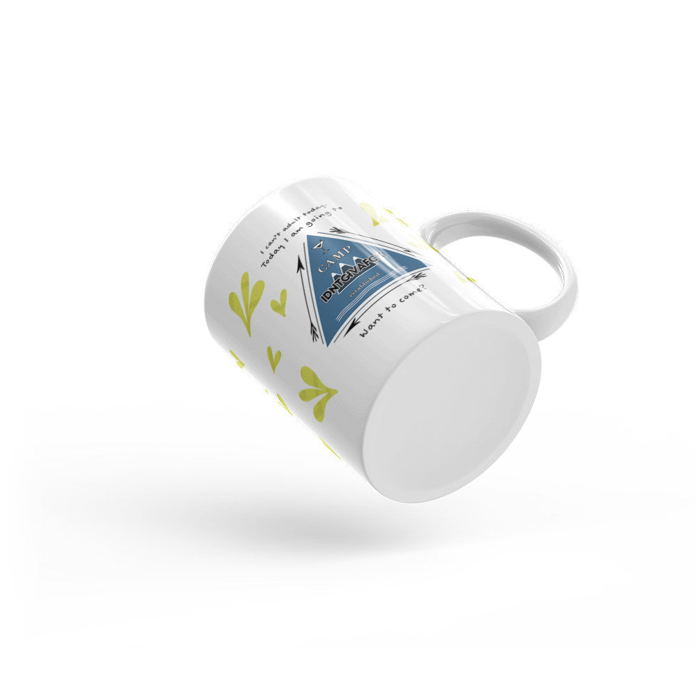 Camp IDNTGIVAFCK Coffee Mug - KatMariacaStudio - 3