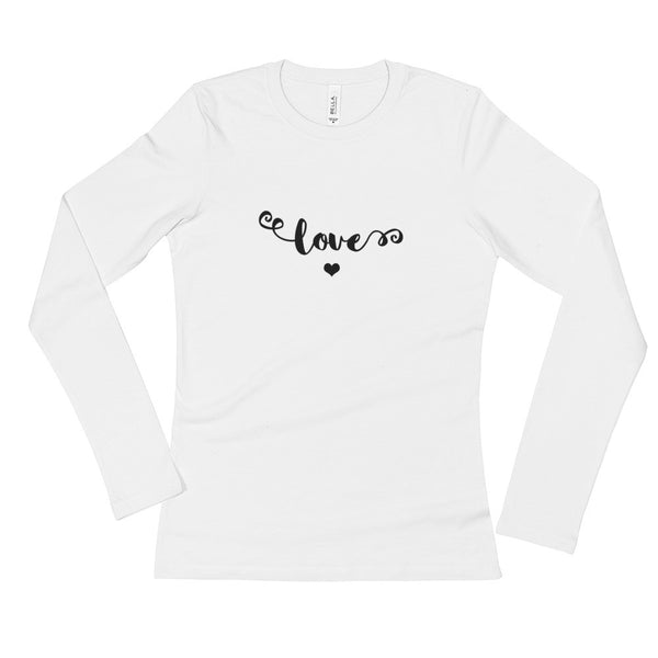 Love - Ladies' Long Sleeve T-Shirt