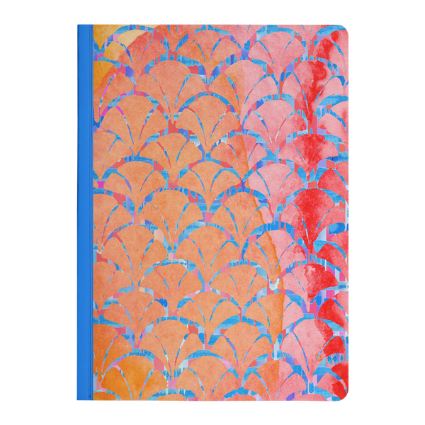Gingko Dreams Paperback Composition Style Journal - Lined Notebook