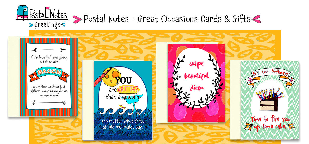 Postal Notes Greetings - Kat Mariaca Studio