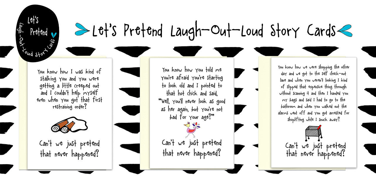Laugh Out Loud Let's Pretend Story Cards