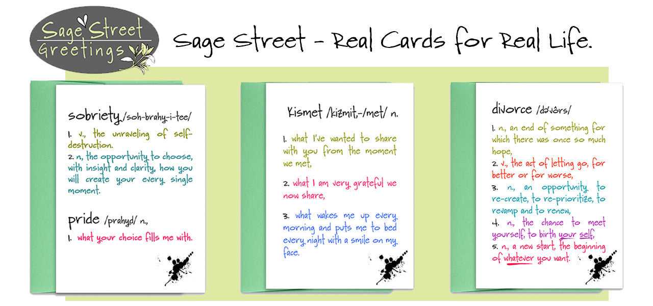 Sage Street Greetings - Real - Kat Mariaca Studio