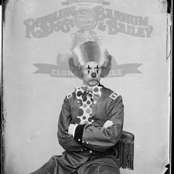 David Bernie Shop Fine Art Print Custer the Clown