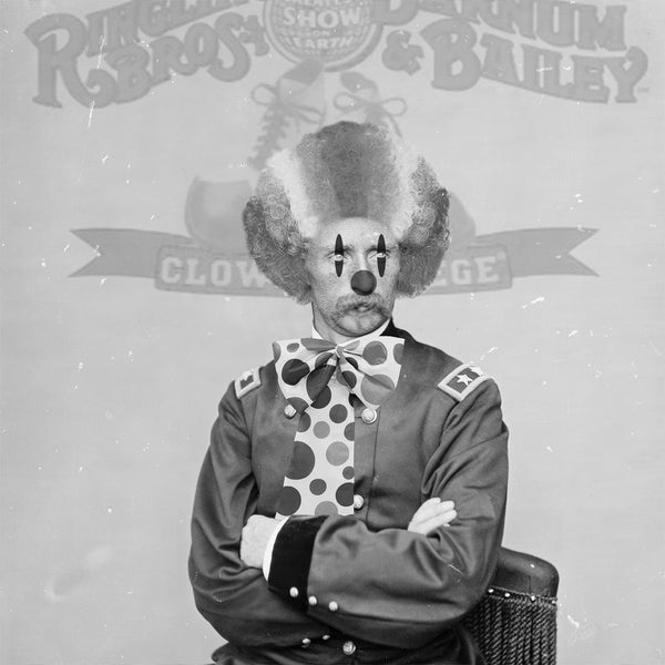 David Bernie Shop Prints Posters Fine Art Custer the Clown