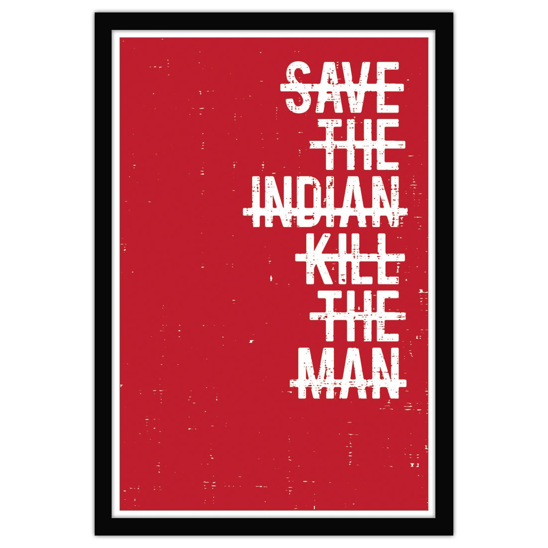 David Bernie Shop Prints Posters Fine Art Save the Indian