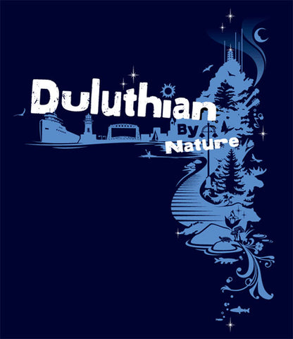 DULUTHIAN BY NATURE Women's relaxed fit T