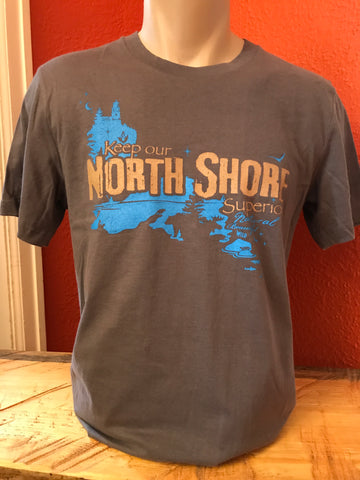 North Shore Standard fit USA T