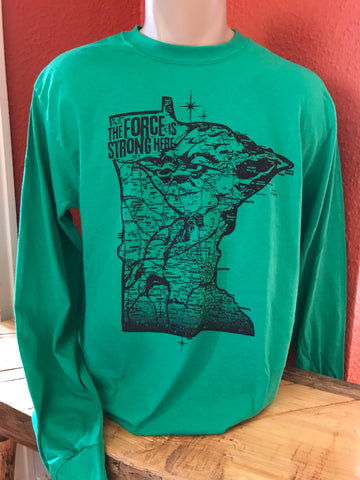 Minneyoda Standard Fit Long Sleeve T