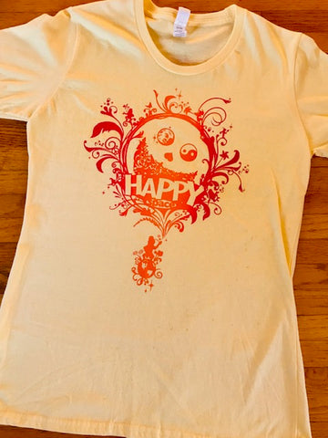 HAPPY SPACE women's relaxed fit T - ON CLEARANCE