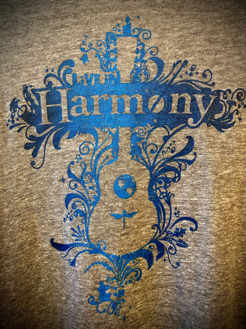 LIVE IN HARMONY Ladies long sleeve